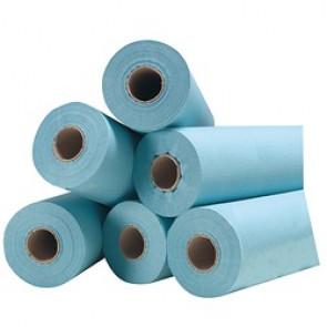 Drap d'examen - Bleu Plastifié