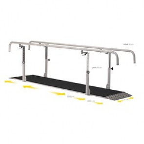 BARRES PARALLELES PRO 4 METRES