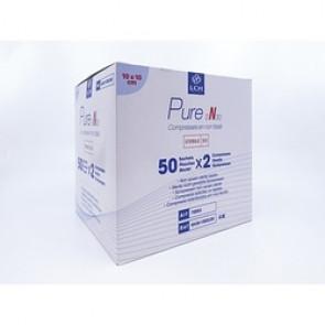 Compresses non tissées stériles 30G 10 x 10 cm