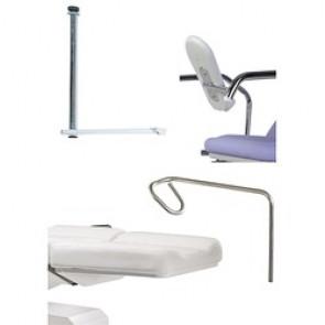 Accessoires spéciale gynécologie pour divan Lemi