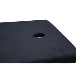 Housse éponge pour tables de massage - Avec ouverture faciale - 10 coloris