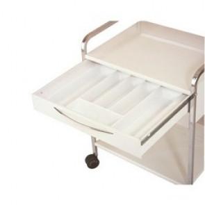 Intérieur tiroir Guéridon Quickstar : 6/9 compartiments