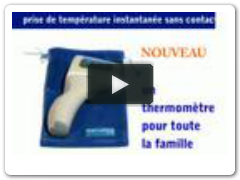 Thermoflash - Thermomètre infrarouge chez Nmmedical